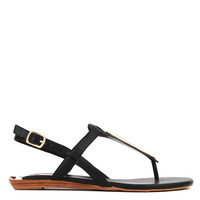 DV by Dolce Vita Allura Black Thong Sandals