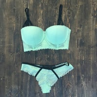 The Mermaid Push Up Bra & Panty