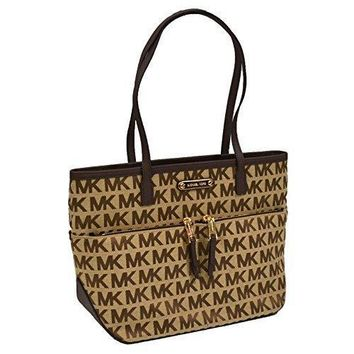 Michael Kors Mk Signature Kempton Pocket Tote