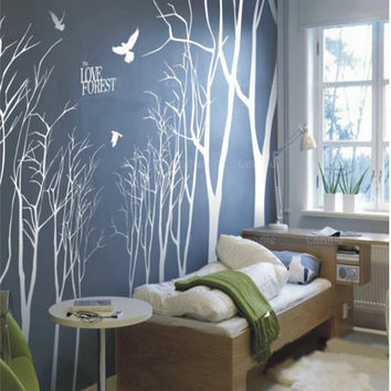 Wall Decals Wall Stickers tree decals muralswall by walldecals001