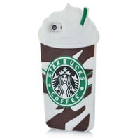 Mocha Frappuccino 3D  Starbuck Coffee Soft Case Cover  Apple iPhone 6 6s 4.7''  Silicone Phone Case Shell