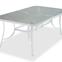 classic glass patio table - Google Search