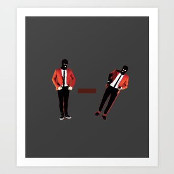 twenty one pilot Art Print by Rowans