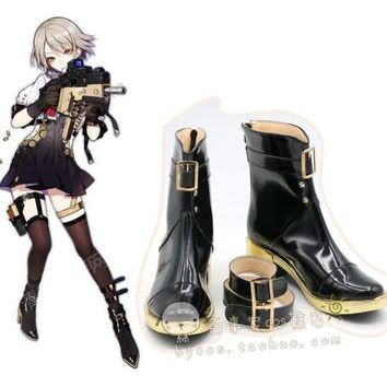 2018 cosplay vector New Game Girls Frontline Cosplay Costume Halloween Carnival Battle Unifrom girls lolita punk  Shoes boots
