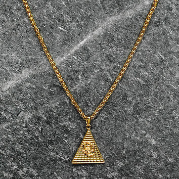 Men's Novem 24k Gold Levels Chain