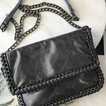 Trixie Metallic Bag