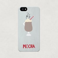 Love Mocha Coffee iPhone 4 4s 5 5s 5c Case