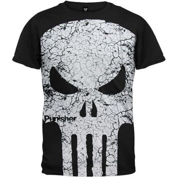 DCCKU3R Punisher - Cracked Face T-Shirt