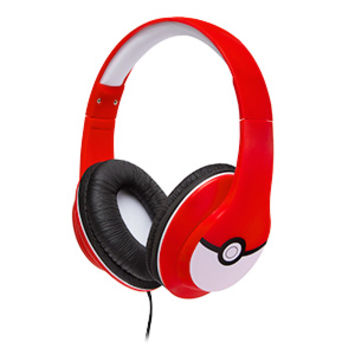 Pokémon Over Ear Headphones w/ Mic