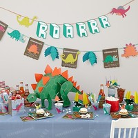 Roarrrr! Party Collection in Party Decorations | The Land of Nod