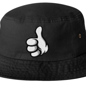 THUMPS UP bucket hat