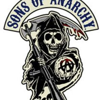 Sons of Anarchy Reaper Logo Patch