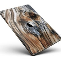 "Raw Aged Knobby Wood Full Body Skin for the iPad Pro (12.9"" or 9.7"" available)"