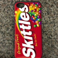 iPhone 5 Skittles Custom Hard iPhone Case Available in Black
