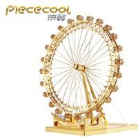 Piececool 3D Metal model kit London Eye Ferris Wheel Model Kits P043-G