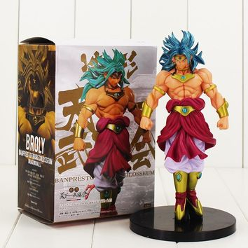 21cm Broli Figure Model Toy Dragon Ball Z Super Saiyan Broli PVC cool Action Figure Model Toy Hot Japanese Anime collectible toy
