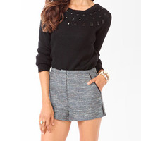 Bejeweled Knit Sweater