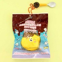 Puni Maru Mini Marshmallow Kitten Squishy Charm - Butters