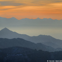 """Sunset at the mountains"". Dreaming... by Guido Montañés"