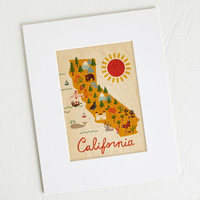Travel Sunny State of Mine Print by ModCloth