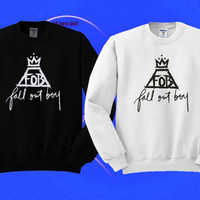 Fall Out Boy FOB Sweatshirt Shirt Clothing Unisex
