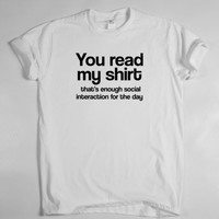 SOCIALIZING  T SHIRT TOP Dope Hipster Indie Swag Tumblr Tee Fresh Funny COOL