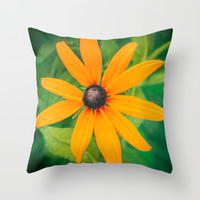 Shining Throw Pillow by DejaReve
