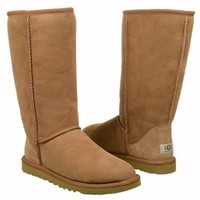 Women's UGG Classic Tall Boot Grey Shoes.com