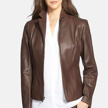 Shop Women S Lambskin Leather Jacket On Wanelo