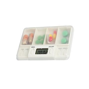 Storage case for medicine box E-kit remind kit timing kit old-age supplies old-age gift pill timer dispenser