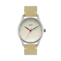 Miró Watches — Creme Face Nature Strap