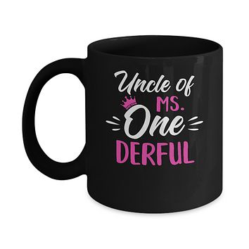 Uncle Of Ms Onederful 1st Birthday Party Costumes Gifts Mug