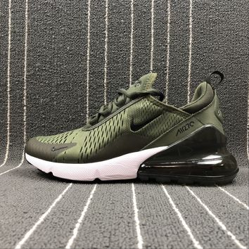 Best Online Sale Nike Air Max 270 Army Green Sport Running Shoes AH8050-300