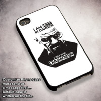 Breaking Bad I Am Danger - For iPhone 4/ 4S/ 5/ 5S/ 5SE/ 5C/ 6/ 6S/ 6 PLUS/ 6S PLUS/ 7/ 7 PLUS Case And Samsung Galaxy Case