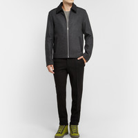 Balenciaga - Panelled Wool Bomber Jacket | MR PORTER