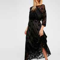 Free People Sybil Velvet Dress