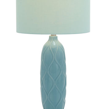 Attractive Styled Ceramic Acrylic Table Lamp