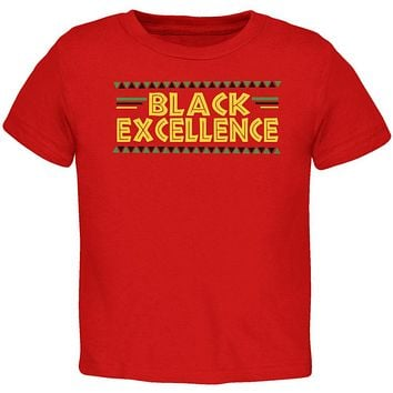 Black History Month Excellence Pan African Colors Toddler T Shirt