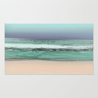 Twilight Sea #2 Rug by Jenartanddesign