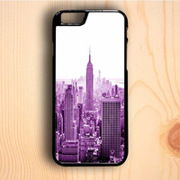 Dream colorful New York City Building iPhone 6 Plus Case