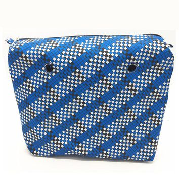1 pcs New colourful inner bag Lining inner bag inserts classic size for obag style standard size tote bag