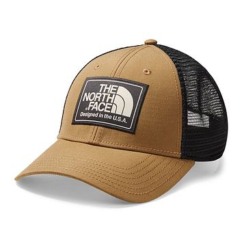 Mudder Trucker Hat in Cargo Khaki Heather & Weathered Black by The North Face