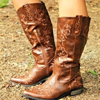 Rodeo Cowgirl Wild Boots