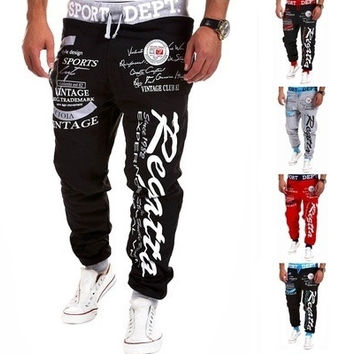 Men's Fashion Sports Pants Mens Trousers Casual Long Pants [9221774788]