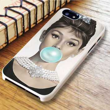 Audrey Hepburn Bubble Gum iPhone 6 Case