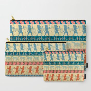 Egyptian Unicorn Pattern Carry-All Pouch by That's So Unicorny