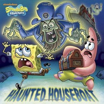 Haunted Houseboat Spongebob Squarepants