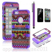 051021 Totem Protective Case For Iphone 44s5 with pen and sticker by Summershopping on Zibbet