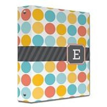 Multi Monogram Binder