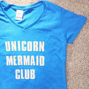 Unicorn Mermaid Club Shirt